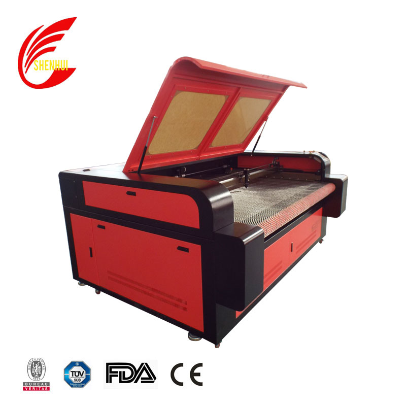 2019 Design Double Heads 1610 Automatic Feeding Laser Cutting Machine
