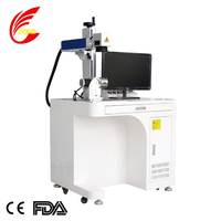 2019 Design 50W Desktop Fiber Laser Marking Machine