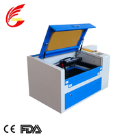 Inported PMI guide rail co2 laser engraving and cutting machine 350 with gate sensor